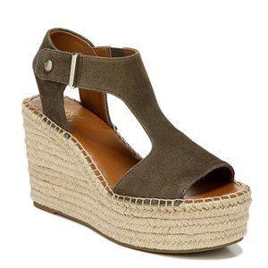 Franco Sarto Womens Treasure 2 Spadrille Sandals